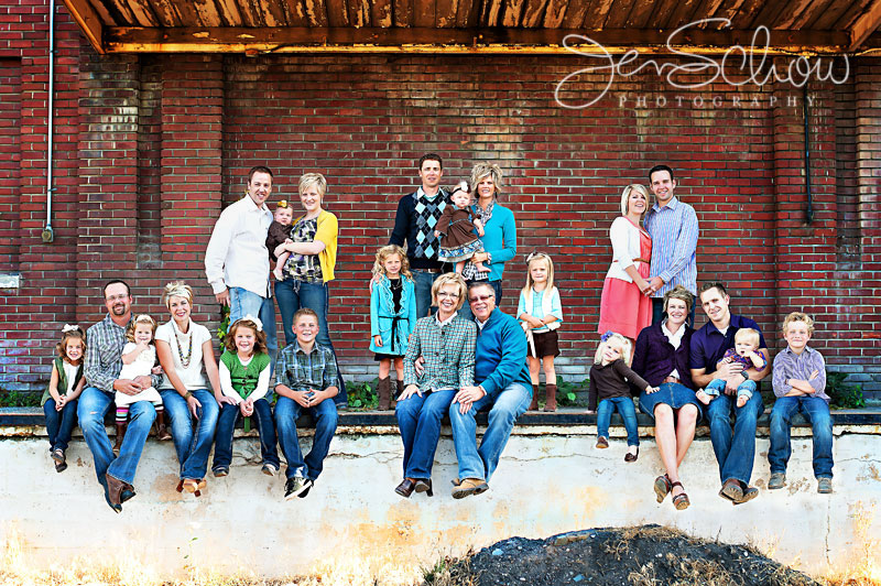 Large Family Portrait Clothing Ideas Pictures Photos